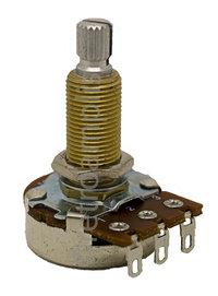 Bourns Guitar Potentiometer 24mm, knurled shaft, SL, Ø6x28mm