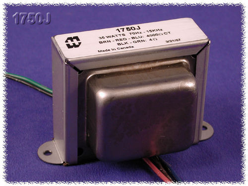 Hammond 1760J (1750J) Output transformer for Fender Vibrolux, Tremolux  125A6A / 022848