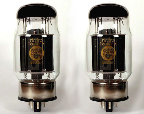 Pair of Tung-Sol 6550 New Production Power Vacuum Tube