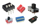 Slides e DIP switch