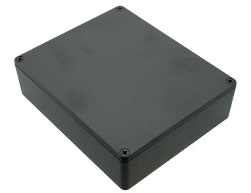 Caja Hammond 1590XXBK color negro