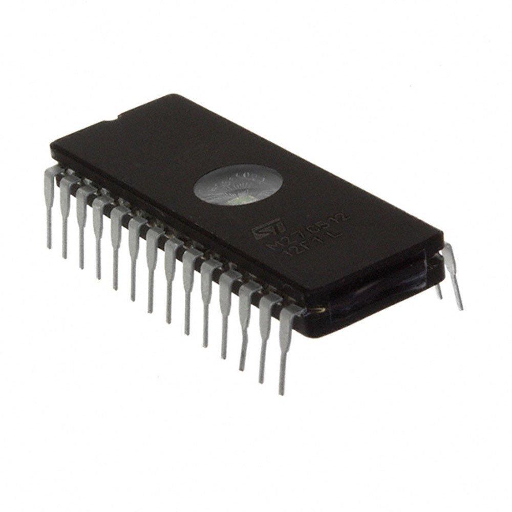 10Pcs M27C512-12F1 IC DIP-28 512K EPROM
